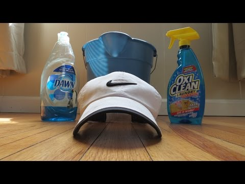 How to get deep stains out of your favorite hat!