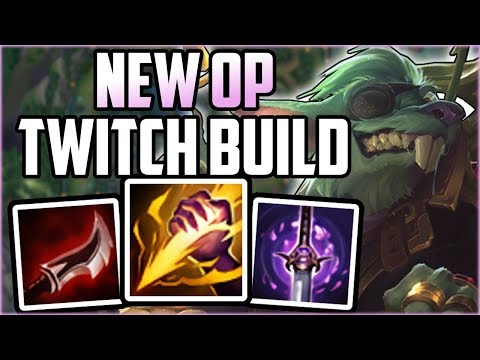 NEW OP TWITCH BUILD! Full Lethality Twitch - League of Legends