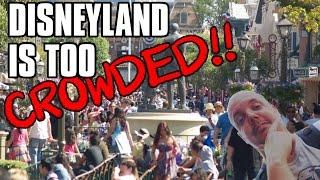 Disneyland is too crowded - Let