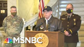National Guard Held In Limbo As Trump Mob Ransacked U.S. Capitol | Rachel Maddow | MSNBC