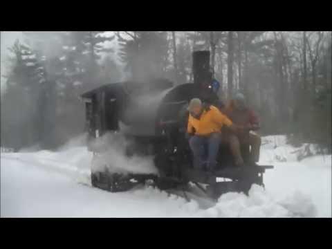C  1910 Lombard Steam Log Hauler