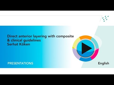 Webinar: Direct anterior layering with composite & clinical guidelines by Serhat Köken