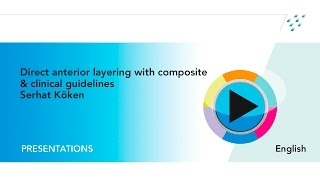 Webinar: How to place composite restorations in anterior teeth with clinical guidelines by S. Köken