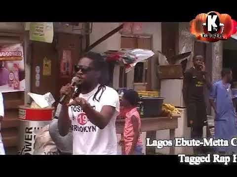 STREET RAP WAR @ EBUTE-METTA WESTEND  CONCERT, LAGOS NIGERIA THE GENESIS OF RAP BATTLE  - K-BAJ