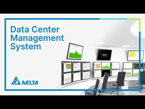 Delta MCIS InfraSuite Datacenter Solutions - Environment Management System