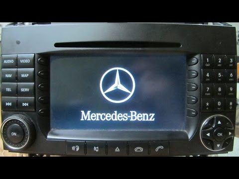 Ремонт штатной магнитолы Mercedes Becker Be 7095