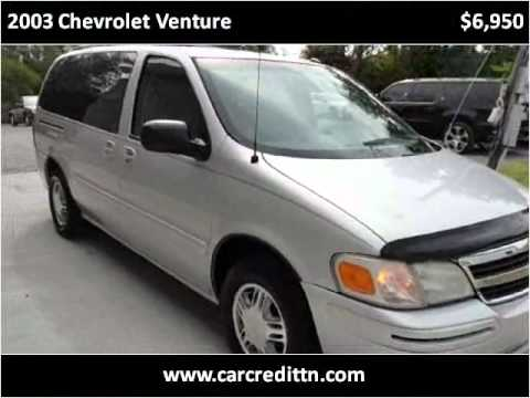 2003 Chevrolet Venture Used Cars Nashville TN