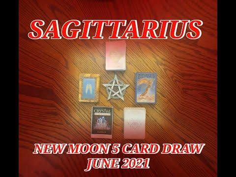 SAGITTARIUS: SENSUALITY & CELEBRATION ACTIVATING THE 3RD EYE: NEW MOON 5 CARD READ JUNE 2021