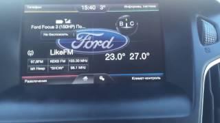SYNC Ford Focus 3+ 2015 Titanium (Рестайлинг)