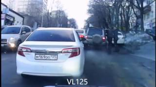 Драка водителей на Суханова