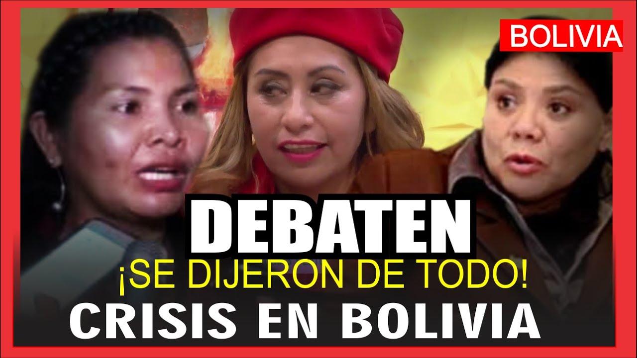 Bolivia por sus protagonistas: Dip Norma Píerola, Sen Ruth Franco y Ruth Nina en un candente debate