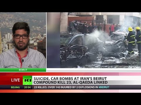 Suicide blasts hit Iranian embassy in Beirut, claimed by Al-Qaeda offshoot