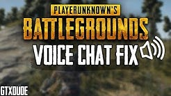 PUBG *Voice Chat* FIX | Fast & Easy Tutorial