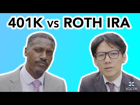 Should business owners invest in a 401k or Roth IRA?
