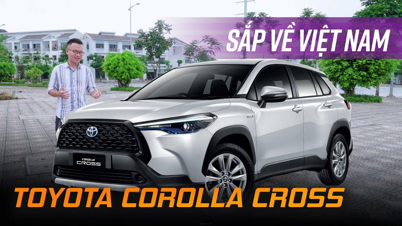 Toyota Corolla Cross sắp về Việt Nam khiến CR-V, CX-5, Kona,... run sợ
