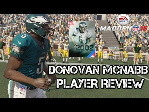 Donovan McNabb | Player Review | Madden 16 Ultimate Team | MUT 16