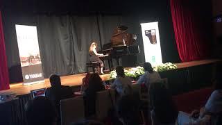 Gambar cover Hisar Okulları 2. Uluslararası Piyano Yarışması - 10.06.2018 - Alya Talayman Eryüksel