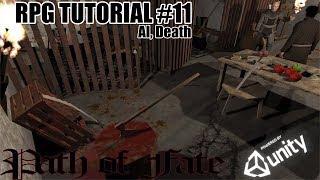 RPG на Unity #11 ІІ, Смерть