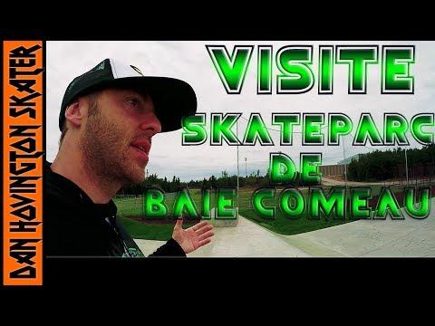 Visite du Skateparc de Baie-Comeau