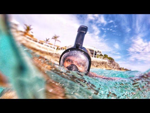 underwater-gasmask