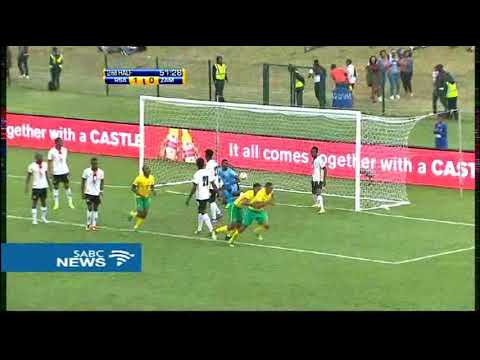 Bafana, Zambia draw 2 all