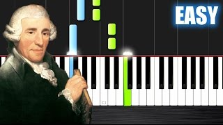 Haydn - Surprise Symphony - EASY Piano Tutorial by PlutaX