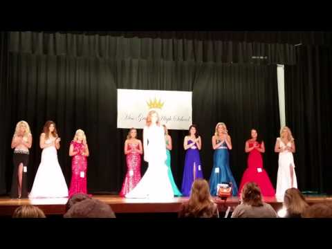 2016 Miss Grundy High School Pageant Top 5