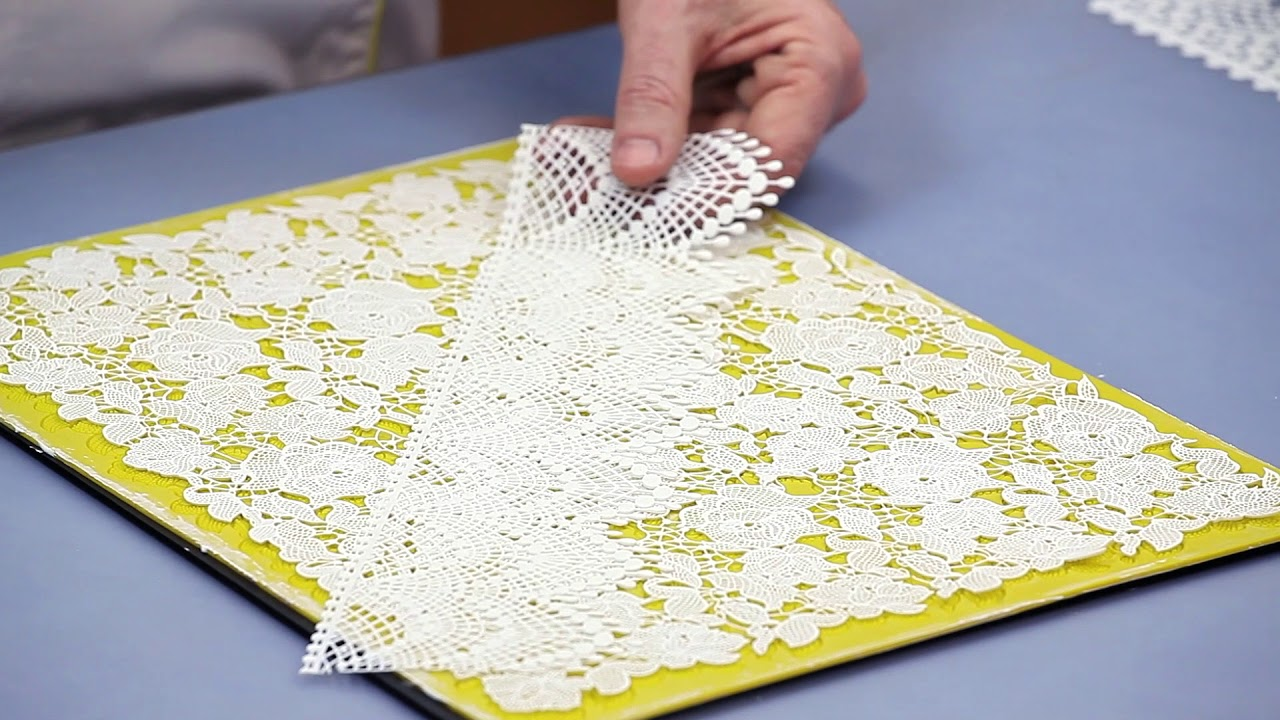 How to Decorate with Cake Lace | Global Sugar Art