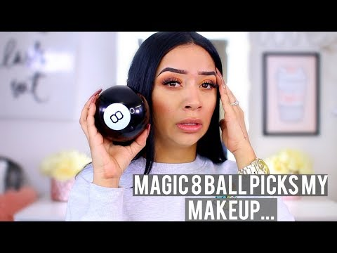 MAGIC 8 BALL CHOOSES MY MAKEUP CHALLENGE!  ohmglashes thumbnail