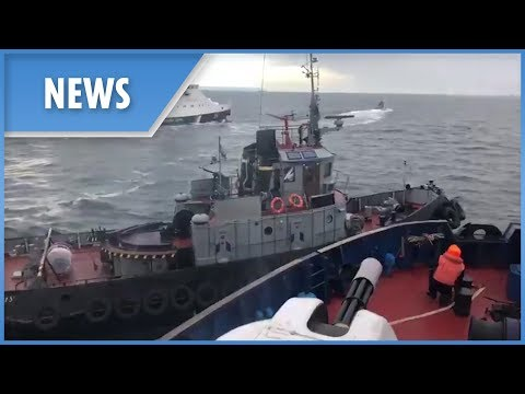 'Russian secret agent' orders ship to ram Ukrainian navy boat (ENGLISH)