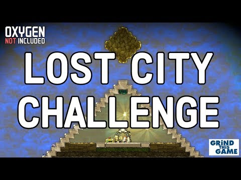 Completing the LOST CITY Challenge - Livestream - Oxygen Not Included