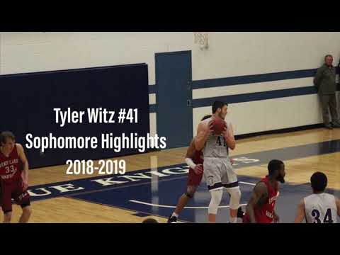 Olney Central College 6'10 Tyler Witz Sophomore Highlights 2018-2019