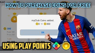 How To Purchase Fŗee Coins Using Google Play points | Pes 2021 Mobile Coin Trick