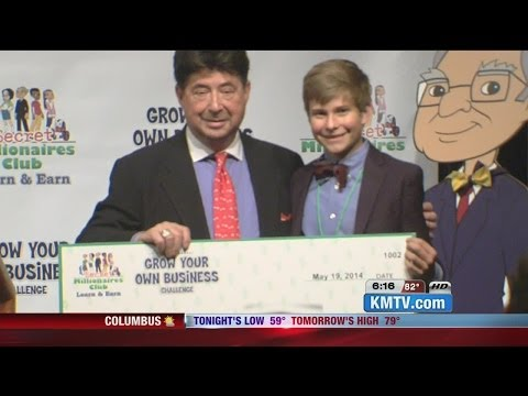 Young Entrepreneurs Present Business Ideas To Oracle of Omaha