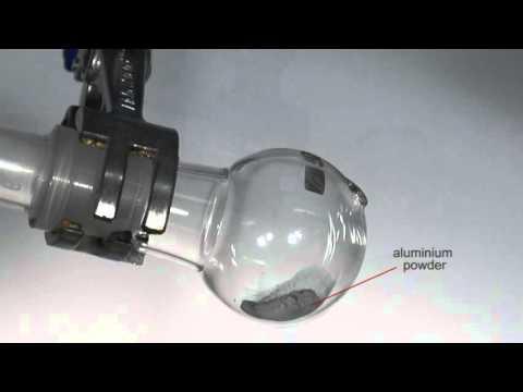 Reaction Of Oxygen And Aluminium
