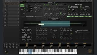 Pad Motion 2 0 Grain Synth Section