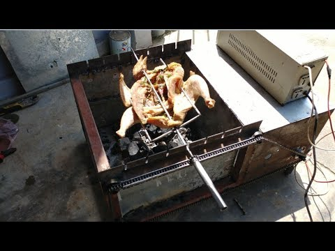 DIY Amazing Mini BBQ grill Machine Automatic Part 2 for Family
