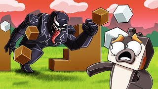 Minecraft - VENOM.EXE BASE CHALLENGE! (Venom in Minecraft)