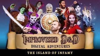 Improvised D&D Digital Adventures: Island of Infamy