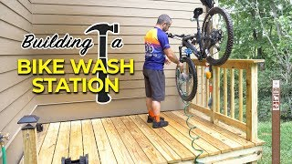 Building a DIY Bike Washing Station with Shoe Bidet