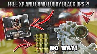 FREE Black Ops 2 XP/CAMO LOBBY! XBOX ONE/XBOX 360! MODDED LOBBY!