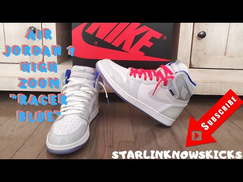 Air Jordan 1 High Zoom Racer Blue Thoughts And On Feet Youtube