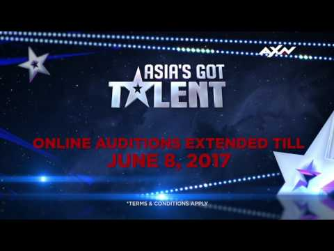 Online Auditions extended till June 8 | Asia's Got Talent 2