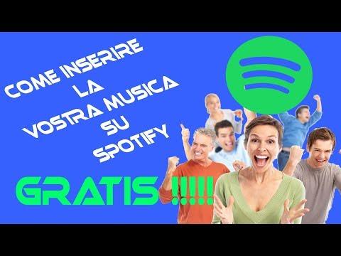 #TUTORIAL Come mettere le proprie canzoni su #SPOTIFY completamente #GRATIS