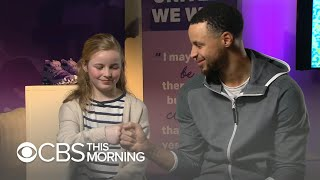 Steph Curry surprises 9-year-old who asked why his shoes weren't sold to girls