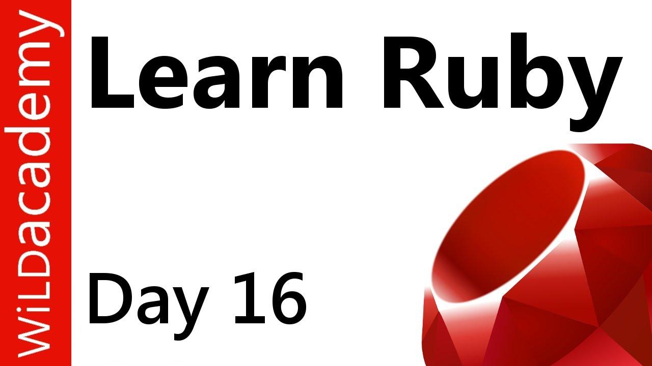 Ruby Programming - 16 - Multidimensional Arrays