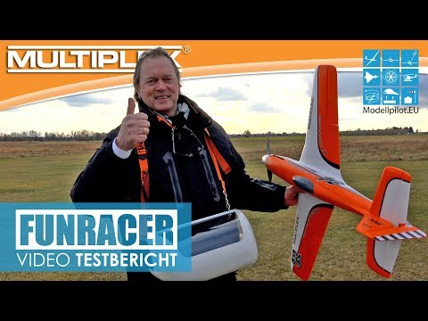 "FUNRACER MULTIPLEX ""FLUGBERICHT"" TESTBERICHT ERSTFLUG PART 2 NEW RC ELAPOR MODEL TESTREPORT [4K]"