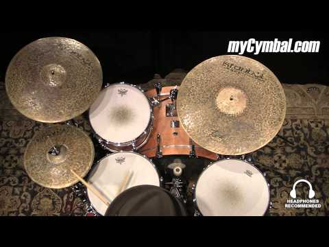 """Istanbul Agop 13"""" Custom Series Turk Hi Hat Cymbals - Played by Terence Clark (TH13-1052014DD)"""