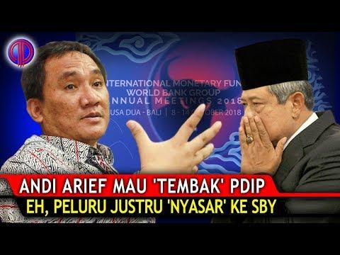 Ngakak Poll! Andi Arief Mau 'T3mb4k' PDIP Soal IMF, Eh, P3luru Justru 'Ny4sar' ke SBY!