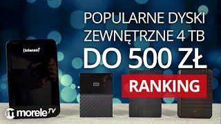 Popularne dyski zewnętrzne 4 TB do 500 zł | RANKING